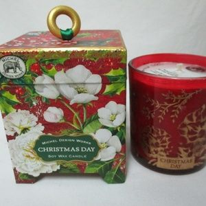 Michel Design Works Christmas Soy Wax Candle NEW